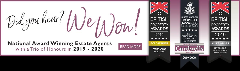 National Award Winning Estate Agents